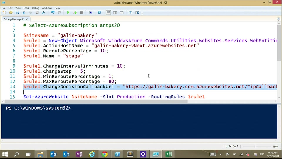 Azure Websites Testing in Production Automation with Galin Iliev