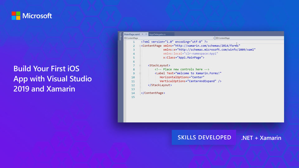 Build Your First iOS App with Visual Studio 2019 and Xamarin