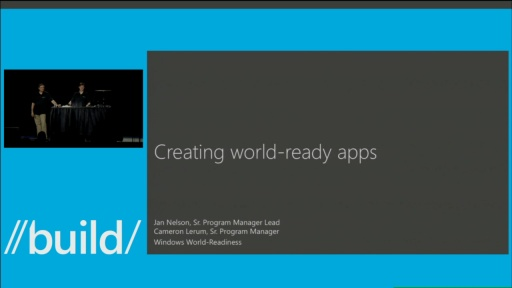 Creating World-Ready Apps
