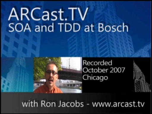 ARCast.TV - SOA and TDD at Bosch