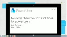 No-code SharePoint 2013 Solutions for power users