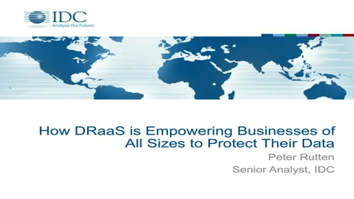 Learn How to Protect Your Business's Data With Disaster Recovery as a Service (DRaaS)