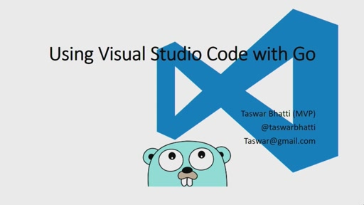 Get Started with Visual Studio Code and Golang