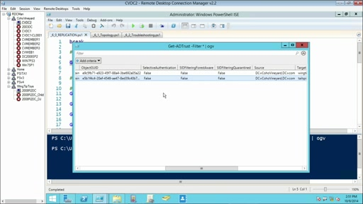 Using PowerShell for Active Directory: (06) Managing and Troubleshooting AD Replication