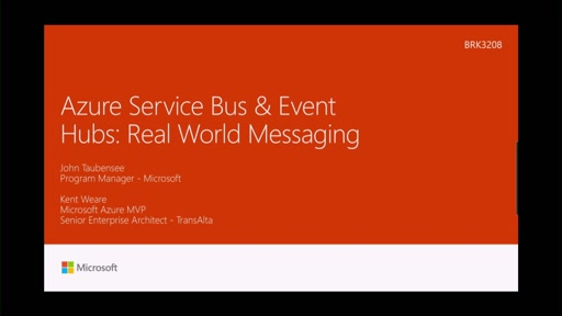Explore case studies of real world messaging with Microsoft Azure Service Bus & Event Hubs
