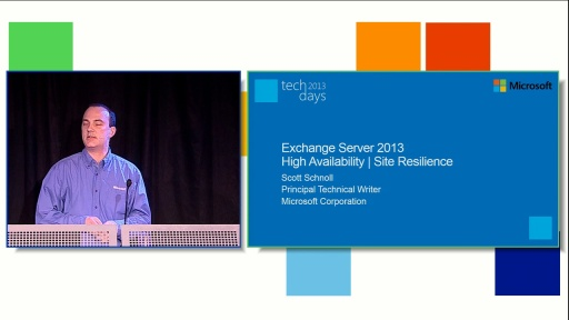 Exchange Server 2013 High Availability and Site Resilience