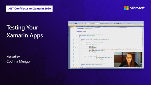 Testing Your Xamarin Apps