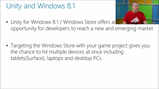 Porting Unity Games to Windows 8.1 and Windows Phone: (04) Supporting Windows 8.1