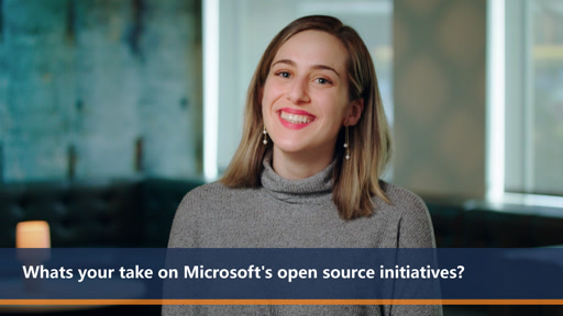 Whats your take on Microsoft's open source initiatives? | One Dev Question
