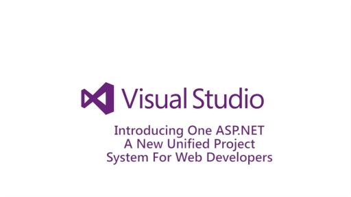 ​Introducing  One ASP.NET - A New Unified Project System for Web Developers