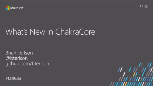 What's new in ChakraCore