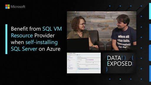 Benefit from SQL VM Resource Provider when self-installing SQL Server on Azure