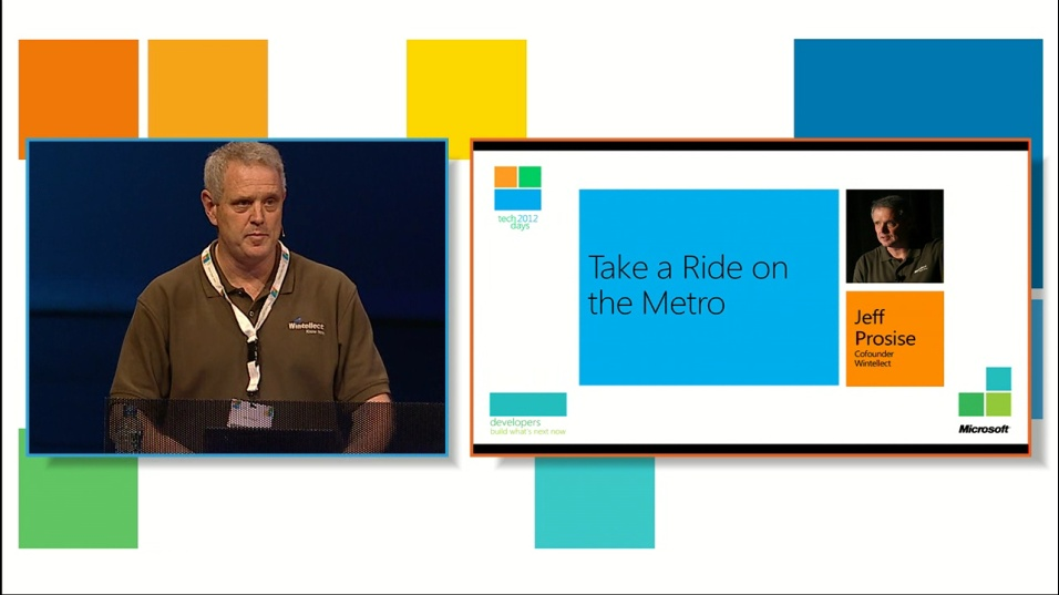 Take a Ride on the Metro: Preparing for the Brave New World of Windows 8