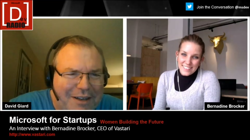 Startup Stories: (Part 2) Women Building the Future - An Interview with Bernadine Brocker, CEO of Vastari