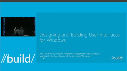 Designing and Building User Interfaces for Windows