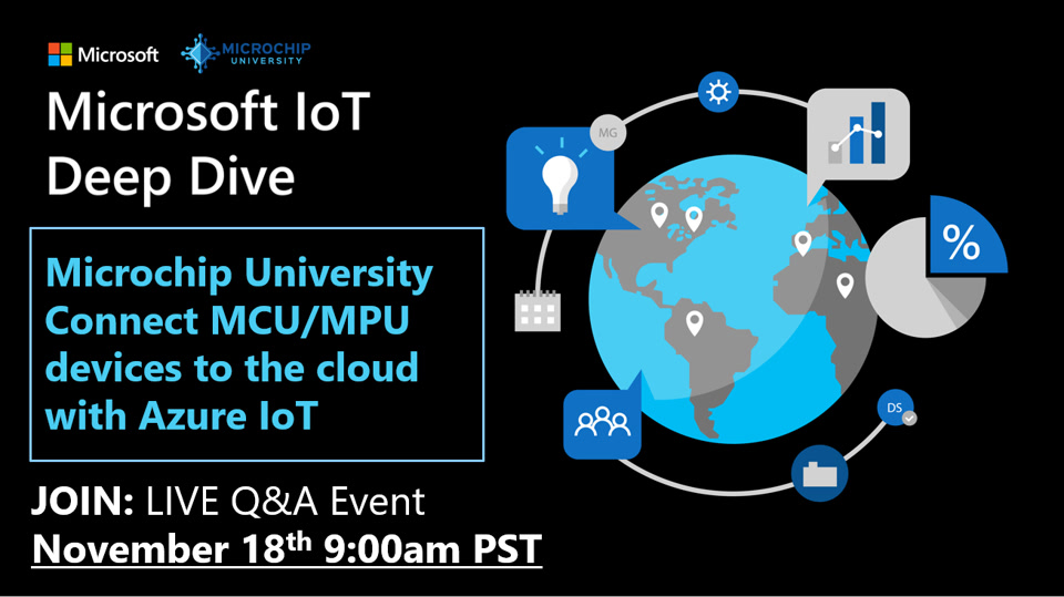 Microchip University: Connect MCU/MPU devices to the cloud with Azure IoT