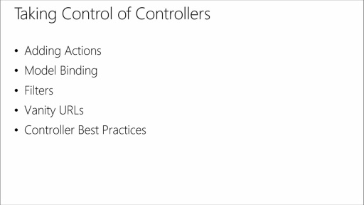 Introduction to ASP.NET MVC: (04) Deep Dive into Controllers