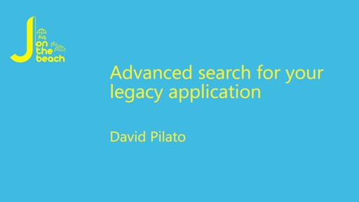 Advanced Search for your legacy application
