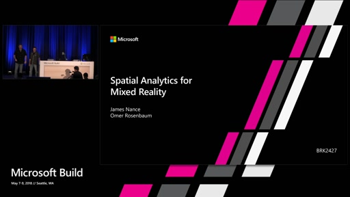 Spatial Analytics for Mixed Reality