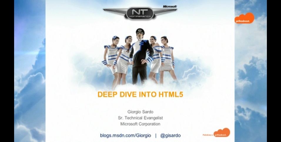 NTK - Deep dive into HTML 5