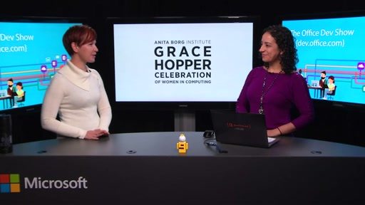 Office Dev Show - Episode 17 - Grace Hopper Celebration