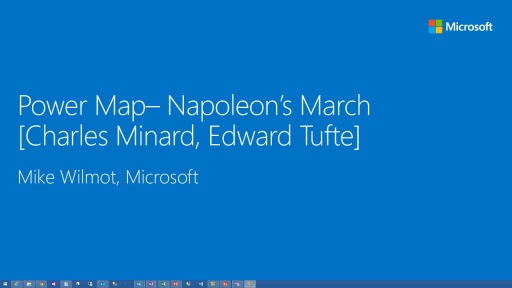 Power BI: Understanding Napoleon's March with Power Map