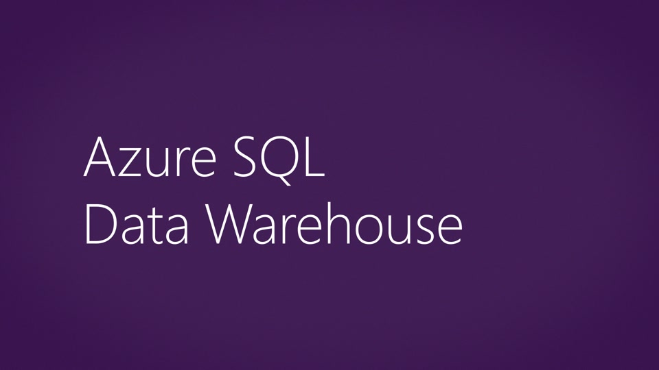 Introduction to Azure SQL Data Warehouse