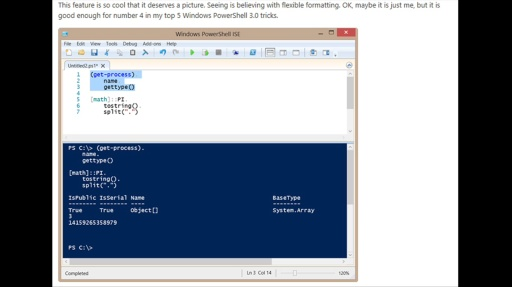 TechNet Radio: IT Time - The Scripting Guy's Top 5 PowerShell 3.0 Tips and Tricks