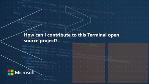 How can I contribute to this Terminal open source project | One Dev Question