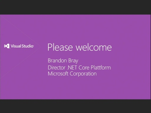 Visual Studio 2012 Austria Launch Teil 1 - .NET Framework (from Past to Future)