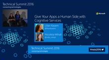 Give your apps a human side through Machine Learning