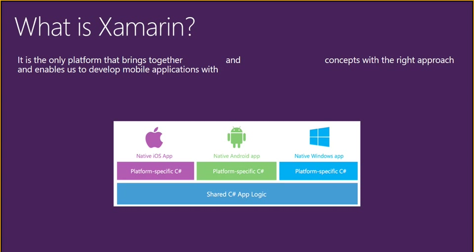 Xamarin Online Training - First Week - 04/19/2017