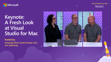 Keynote: A Fresh Look at Visual Studio for Mac