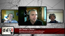 Microsoft DevRadio: (Part 1) Windows Azure Mobile Services - Overview
