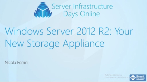 WS04 - Windows Server 2012 R2: Your New Storage Appliance