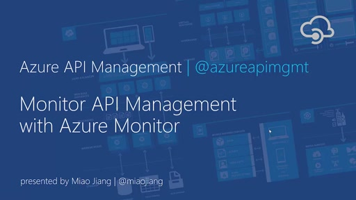 Monitor API Management with Azure Monitor