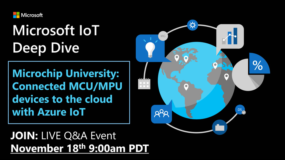 Microchip University: Connected MCU/MPU devices to the cloud with Azure IoT