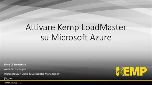 LoadMaster in Microsoft Azure Marketplace