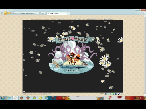 Pirates Love Daisies: real world browsers benchmark