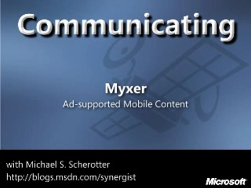 Myxer: Ad-Supported Mobile Content