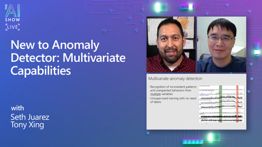 New to Anomaly Detector: Multivariate Capabilities