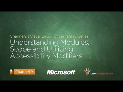 Understanding Modules, Scope and Utilizing Accessibility Modifiers - 18