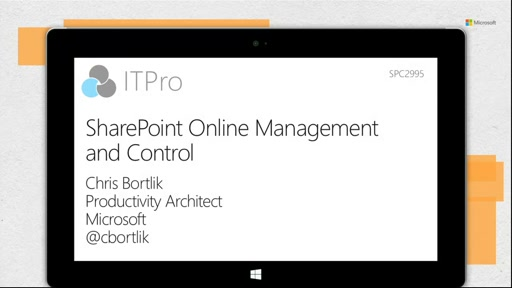 SharePoint Online Management and Control