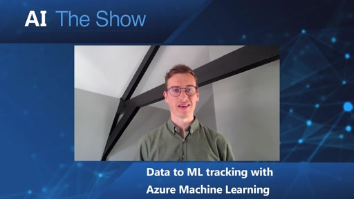 Data to ML Tracking with Azure Machine Learning