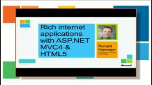 Rich internet apps with MVC4 and HTML5