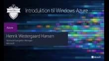 Introduktion til Windows Azure