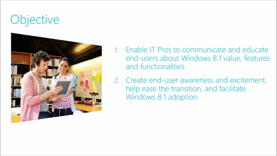 Windows 8 1 User Readiness Toolkit   01  Introduction