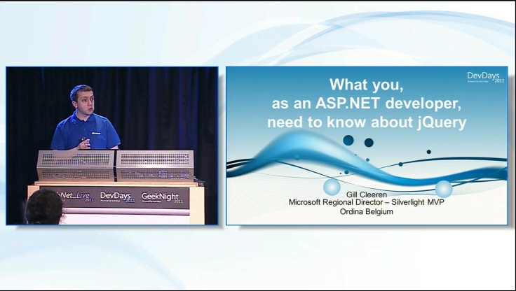 What you as an ASP.NET Developer should know about jQuery