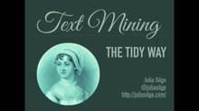 Text mining, the tidy way