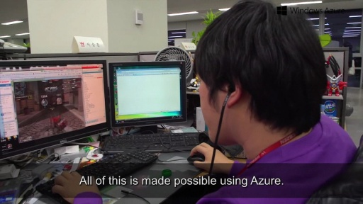 Windows Azure Case Study - Webzen